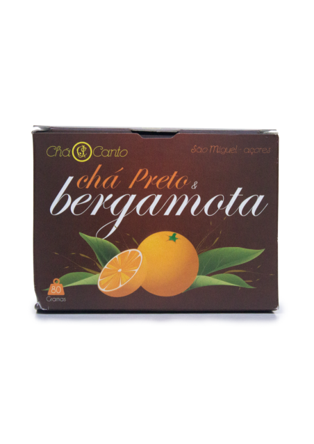Pekoe Black Tea & Bergamota 80g (loose leaf)