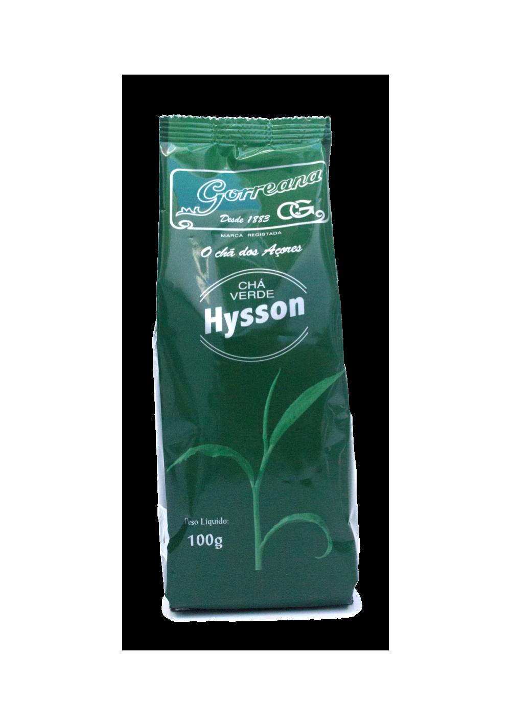 Chá Verde Hysson (folha solta)