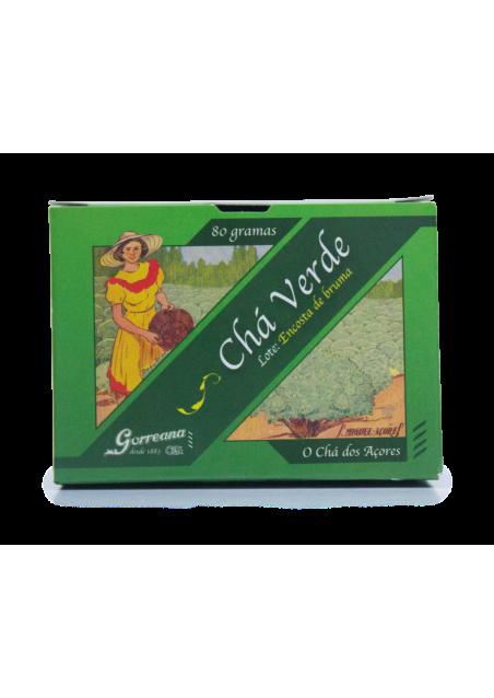 """Chá Verde """"Encosta de Bruma"""" 80g (folha solta)"""