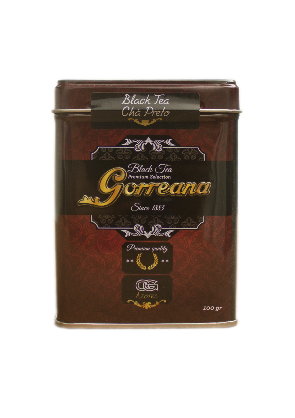 Orange Pekoe Ponta Branca Black tea 100gr