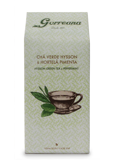 Green Tea Hysson & Peppermint - Loose Leaf 80g