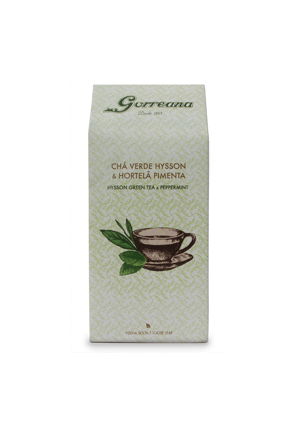 Hysson Green tea & Peppermint (loose leaf) 80gr