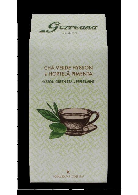 Hysson Green tea & Peppermint (loose leaf) 80gr