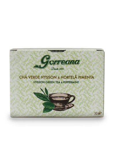 Hysson Green tea & Peppermint Tea Bags 20x2gr