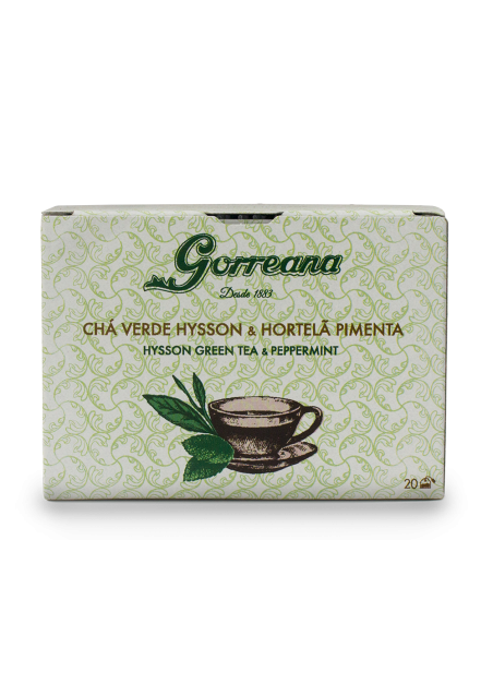 Hysson Green tea & Peppermint Tea Bags 20x2gr (temporarily unavailable)