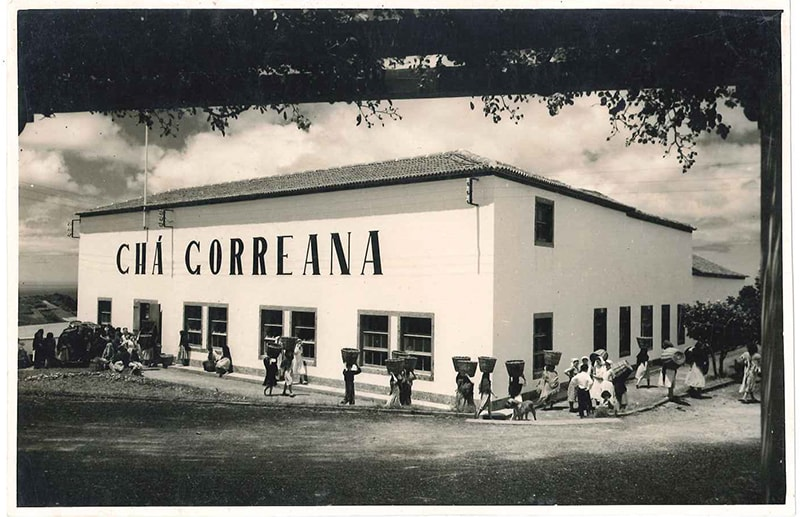 Who talks about the tea and the Azores, speaks of Gorreana