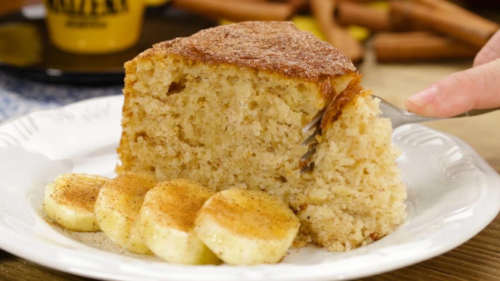 Azorean Banana Cake